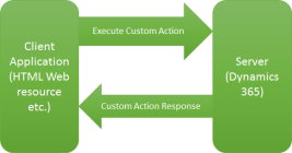 Execute Custom Action from CRM WebAPI