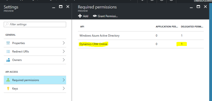 Connect to Dynamics CRM WebApi from Console Application