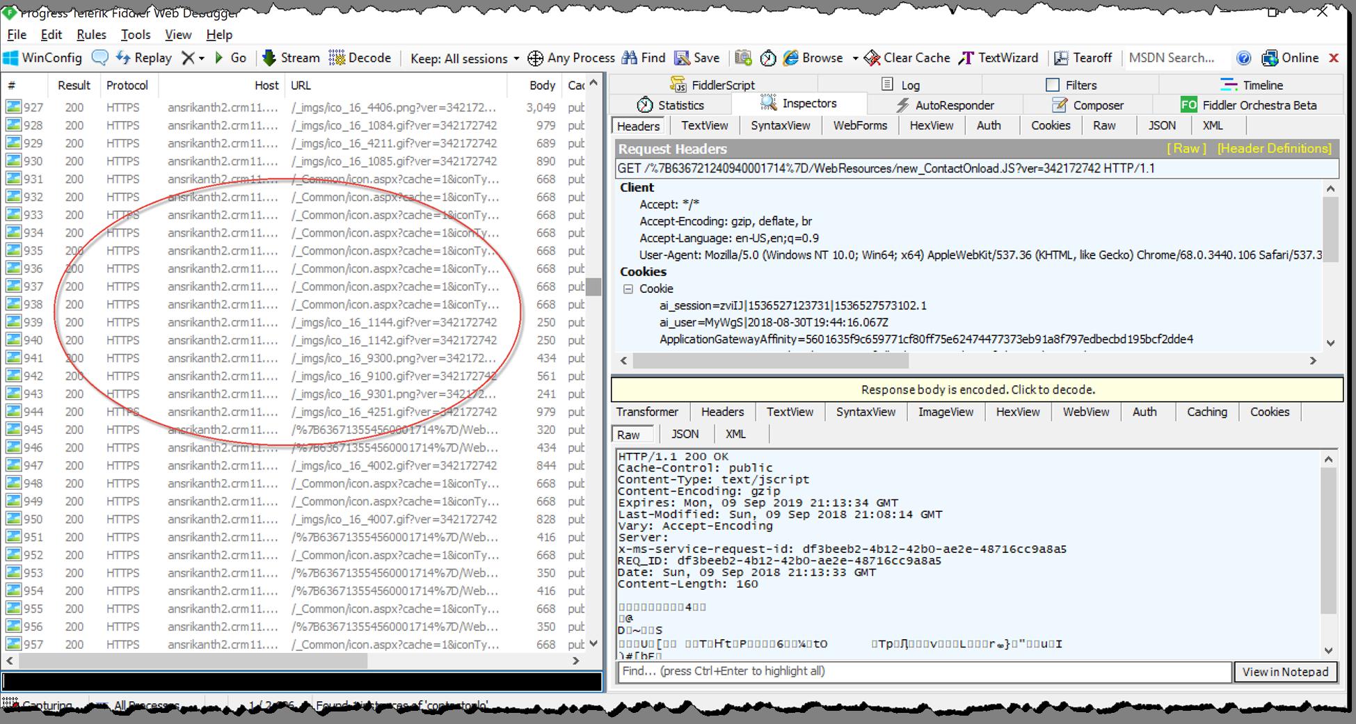 Accelerate CRM web resources development using Fiddler | CRM Ramblings