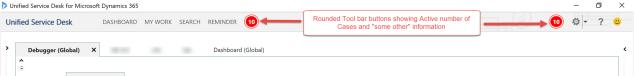 USD Customized toolbar buttons