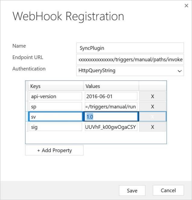 Webhook Registration for Flow